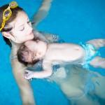 Éveil aquatique pour bébé