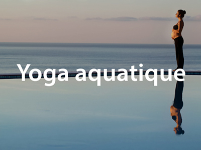 Yoga aquatique
