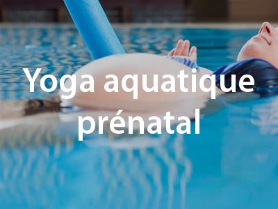Yoga aquatique prénatal