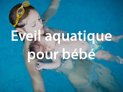 Eveil aquatique pour bébé